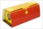 ロールケーキのパッケージ製作例